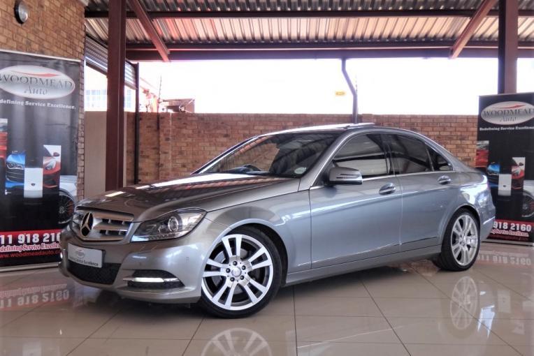 2012 Mercedes-Benz C350 CDI AVANTGARDE Sedan   Woodmead Auto